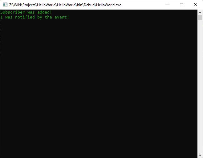 C# events add remove