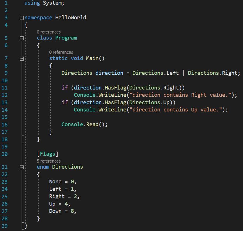 C# check enum has flag